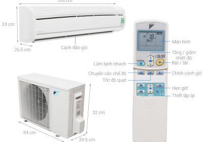Máy lạnh Daikin FTKM71SVMV/ RKM71SVMV (3.0 HP, Gas R32, Inverter)